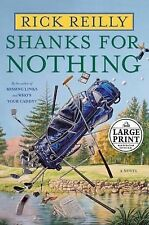 Shanks For Nothing by Rick Reilly - Large Print - Hardcover