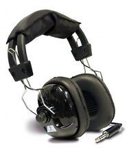 "Teknetics Professional Metal Detector Stereo Headphones 1/4 & 1/8"" Plug HEADT"