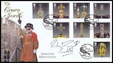 2011 GB The Crown Jewels Buckingham FDC Signed General The LORD FRANCIS DANNATT