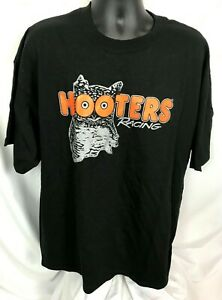 HOOTERS Racing A Delightfully Double Decade 20th Anniversary 2003 T-Shirt 2XL