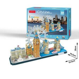 Cubic Fun - 3D Puzzle Cityscape City Line London England