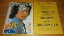 Popfoto 1973: Sayer/Elvis/Jackson/The Sweet/McCartney/Slade/Gary Glitter/Stones