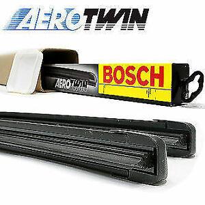 BOSCH AERO FLAT Front Windscreen Wiper Blades For: Maserati Levante (16-)