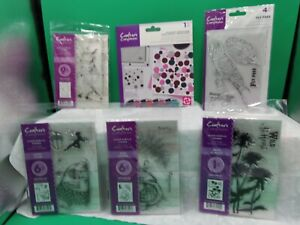 Acrylic Stamps 4 Crafters Companion Birds - Fairy theme- more