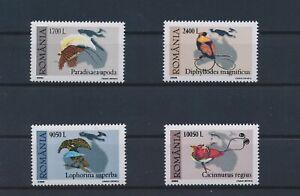 LO55598 Romania 2000 animals fauna flora birds fine lot MNH