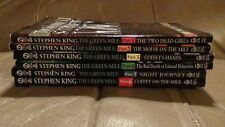 The Green Mile Stephen King Signet Paperback Complete Set 1-6 All First Printing