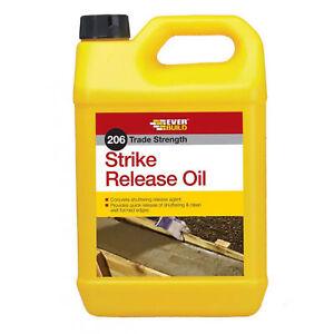Everbuild 206 Strike Release Oil Agent 5 LItre Shuttering Release Agent