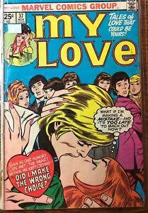 My Love #37 VG- (uncertified) Marvel Comics