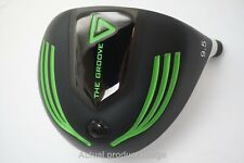 VERTICAL GROOVE GOLF THE GROOVE 9.5* DRIVER HEAD ONLY VERY GOOD CONDITION 758123