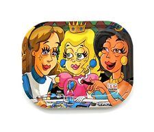 "Metal Rolling Tray - Dunkees ""Princess Sesh"" (5""x7"")"
