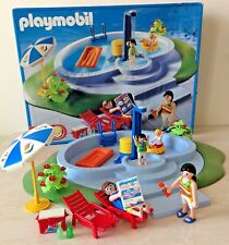 Playmobil (3205) Boxed Summer Fun Swimming Pool with Figures & Accessories