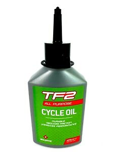 WELDTITE TF2 ALL PURPOSE LUBE ROAD MTB BIKE BICYCLE CYCLE CHAIN OIL - 125ml