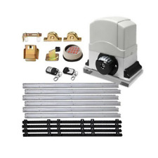 LockMaster 1200Kg Electric Sliding Gate Opener Kit - GO-DSR1200-SV-172-RX2