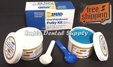 Defend Putty Fast Set Vps Impression Material Kit 300ml Each Base and Catalyst