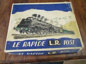 L.R Le Rapide échelle o coffret 1051 complet