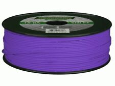 METRA The Install Bay 18 Gauge 500 Ft Primary wire Purple 100% OFC Copper HQ