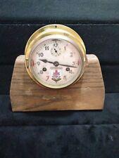 Vintage Rolf Gerdes & Company Ships Bell Clock