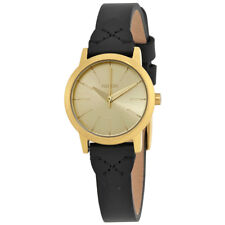 Nixon Kenzi Gold Dial Ladies Leather Watch A398-2143-00