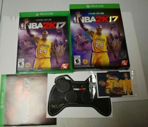 NBA 2K17 Legend Edition. Comes with extra's. No poster. Tested.