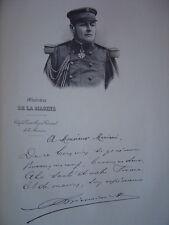 Gravure Portrait du Vice-Amiral Amédée Pierre Léonard BIENAIME Bienaimé 1902