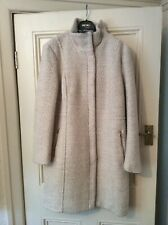 LADIES ZIP FRONTED COAT BY H&M SIZE 20
