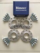 4 x 20mm Silver Alloy Wheel Spacers Silver Bolts - BMW E90 E91 E92 E93