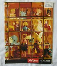 VINTAGE TRIANG PEDIGREE SOFT TOYS DOLLS 1965 CATALOGUE UK VERSION SINDY
