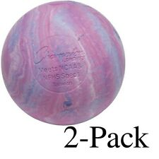Champion Sports Official Size Rubber Lacrosse Ball, Multi-Colored (Pack of 2)