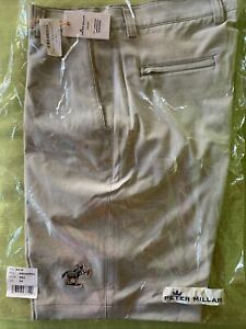 NEW Scotty Cameron GRAY JACK the DONKEY Peter Millar Golf Shorts Size 34