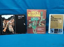 3 Book Lot: The Sportsman's Almanac; Sights West; The ABC's of Reloading