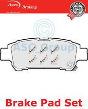 Apec Rear Brake Pads Set OE Quality Replacement PAD1238