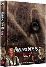Blu Ray/DVD Freitag der 13. Teil 2 II Uncut Mediabook - wattiert NEU