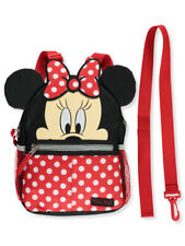 "Disney Minnie Mouse Polka Fun 10"" Harness Backpack"