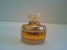 Vintage Yves Saint Laurent CHAMPAGNE Miniature 4ml PARFUM Womens Fragrance Rare