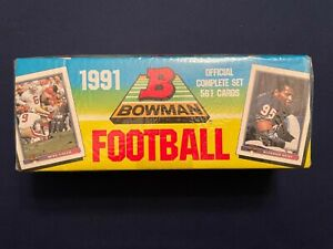 1991 Bowman Football Factory Sealed Complete Set
