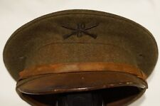 Pre WW1 American US AEF 10th Infantry Other Ranks Peak Cap