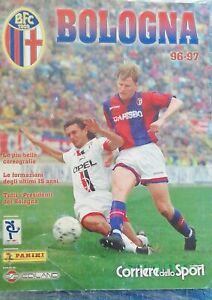 BOLOGNA 96/97 - EDILAND -ALBUM COMPLETO CON TUTTE LE FIGURINE ATTACCATE +POSTER