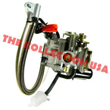 ELECTRIC CHOKE CARBURETOR FOR 4-STROKE GY6 139QMB 50CC SCOOTERS/MOPEDS/GO KARTS