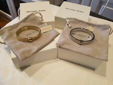 Michael Kors - Urban Rush CZ Hinged Bangle Bracelet NWT $95