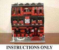 GET100+ CUSTOM LEGO INSTRUCTIONS like MODULAR MARTIAL ARTS SCHOOL for LEGO 10182