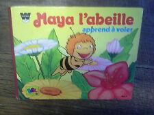Maya l'abeille apprend à voler  / Livre 1978