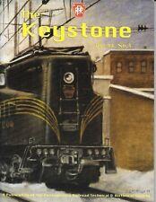 Keystone PRR V44 N4 2011 Chicago Railroad Fair 1948 PRR Whistles Paoli Yard K4
