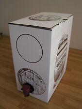 5 Litre Cider Beer Wine Bag In A Box Container Barrel Homebrew Dispenser Barrel