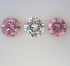 PINK ARGYLE DIAMONDS 0.31ct! PAIR 100% AUSTRALIAN NATURAL UNTREATED +CERTIFICATE