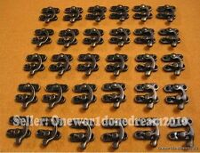 30x Lot Swing Hook Clasp For Leather Craft Bag Wood Crafting Case Box with Screw