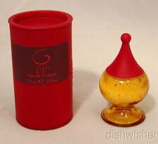 New NIB Romeo GIGLI Eau De Toilette Mini Miniature .25 oz. 7.5 ml Splash