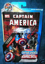 MARVEL UNIVERSE CAPTAIN AMERICA ROGERS CROSSBONES BROCK RUMLOW  AVENGERS LEGENDS