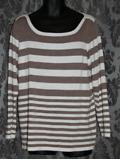 Millers Striped Plus Size Jumpers & Cardigans for Women