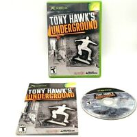 Tony Hawks Underground Microsoft Xbox Activision Tested Very Good 2004 Neversoft