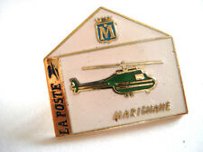 PINS RARE ELICOTTERO HELICOPTER HELICOPTERE LA POSTE MARIGNANE FRANCE